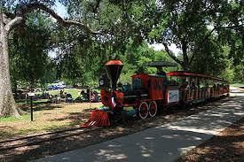 train at Landa Park